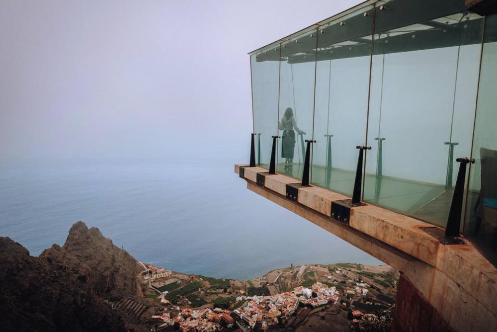 El mirador de Abrante, il panorama