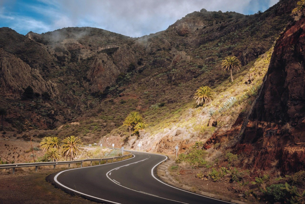 La Gomera on the road