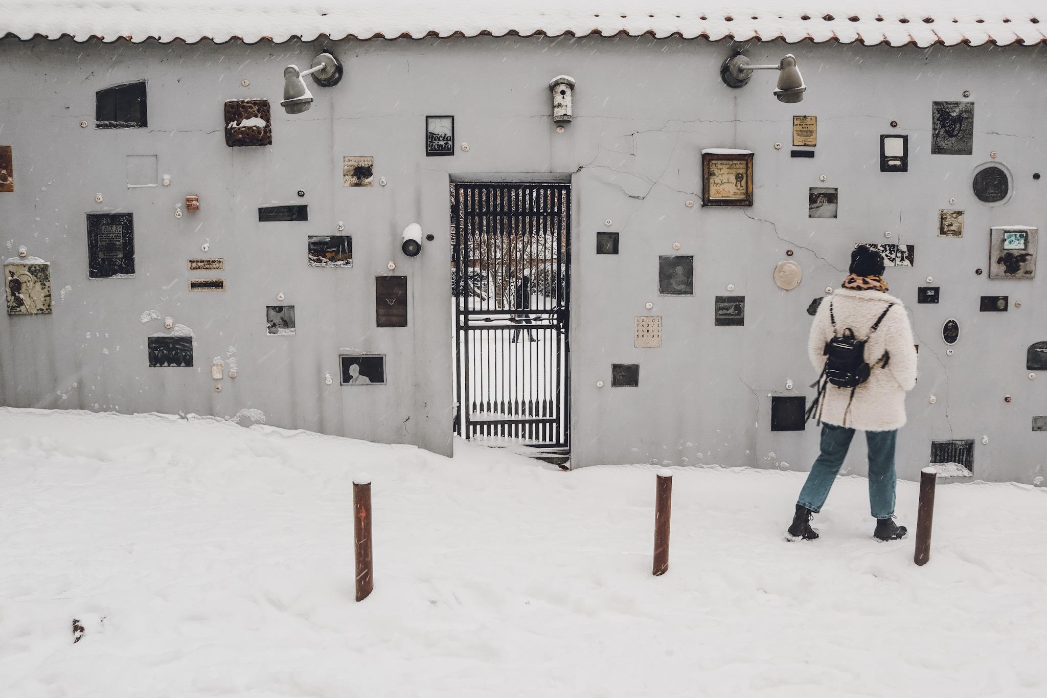 Vilnius cosa vedere cosa fare - Literatu street