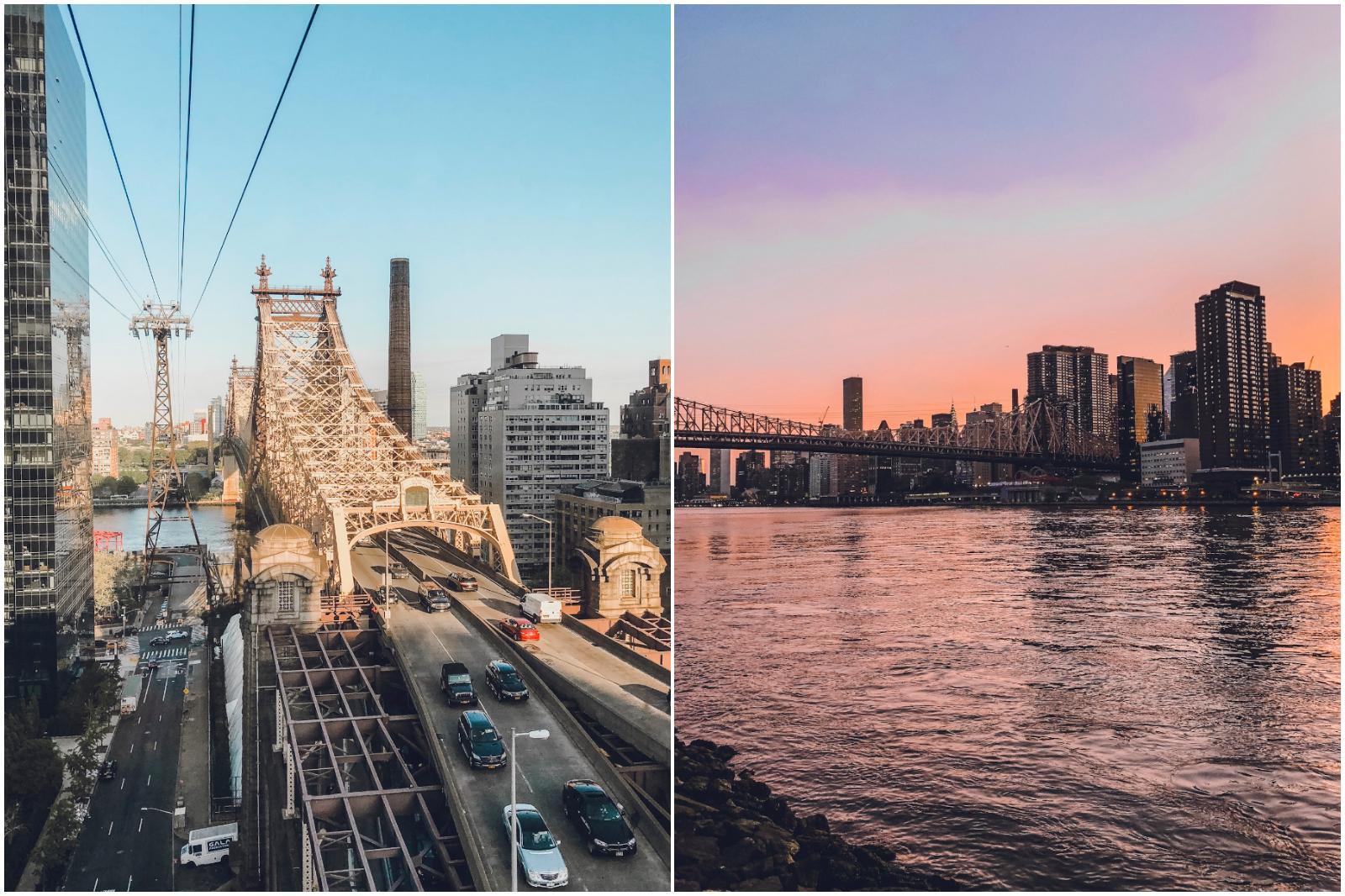 Roosevelt Island sunset NY