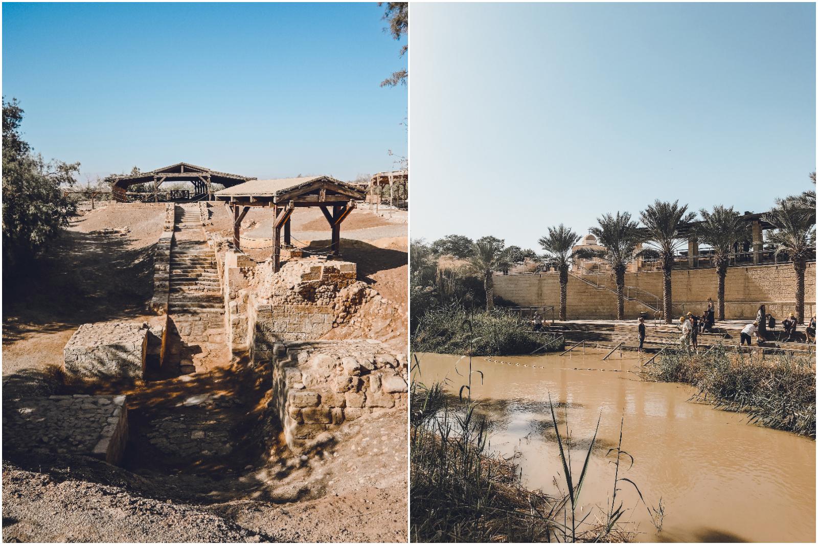 Sito battesimale Giordania