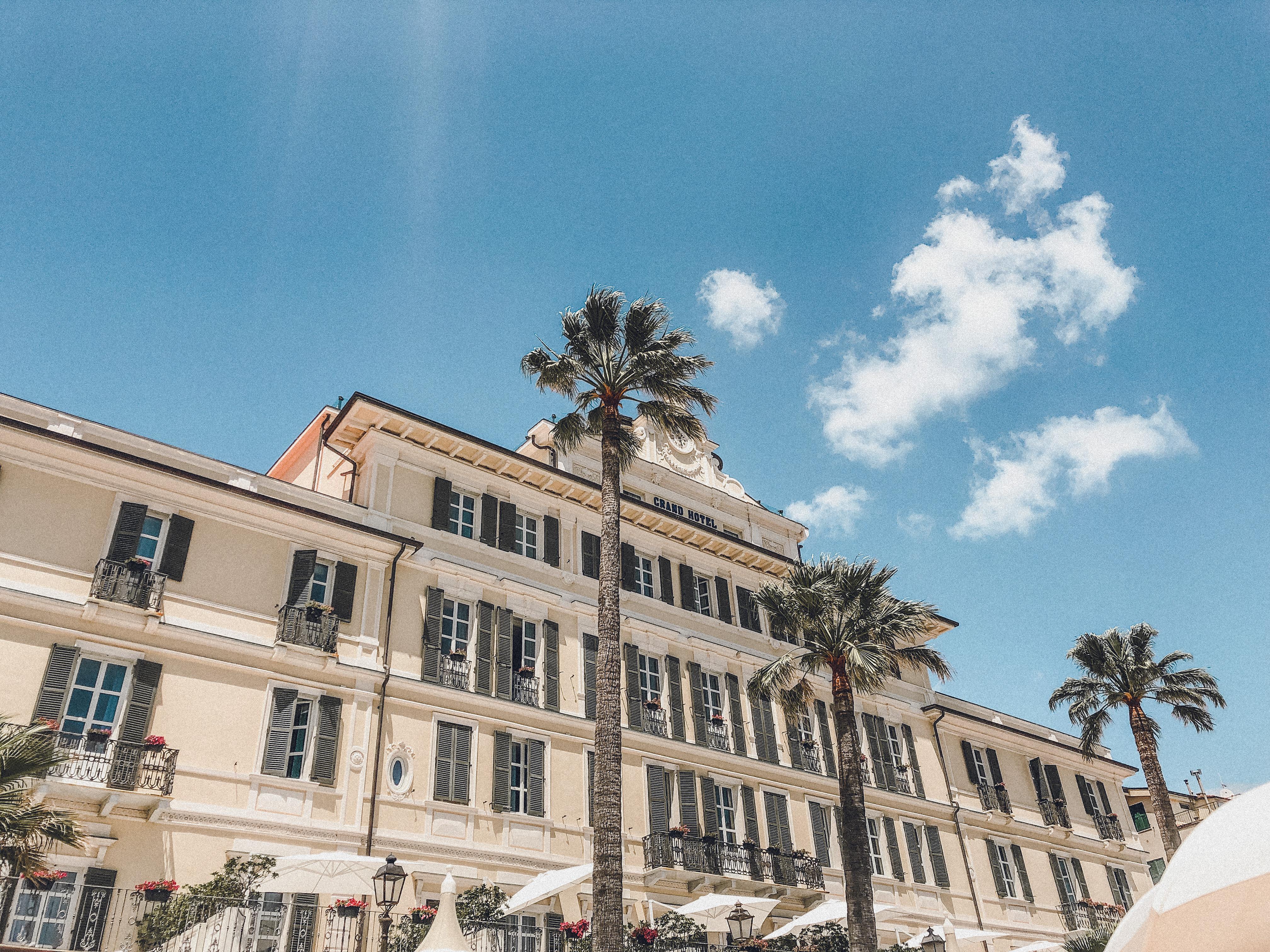 Grand Hotel Alassio la facciata