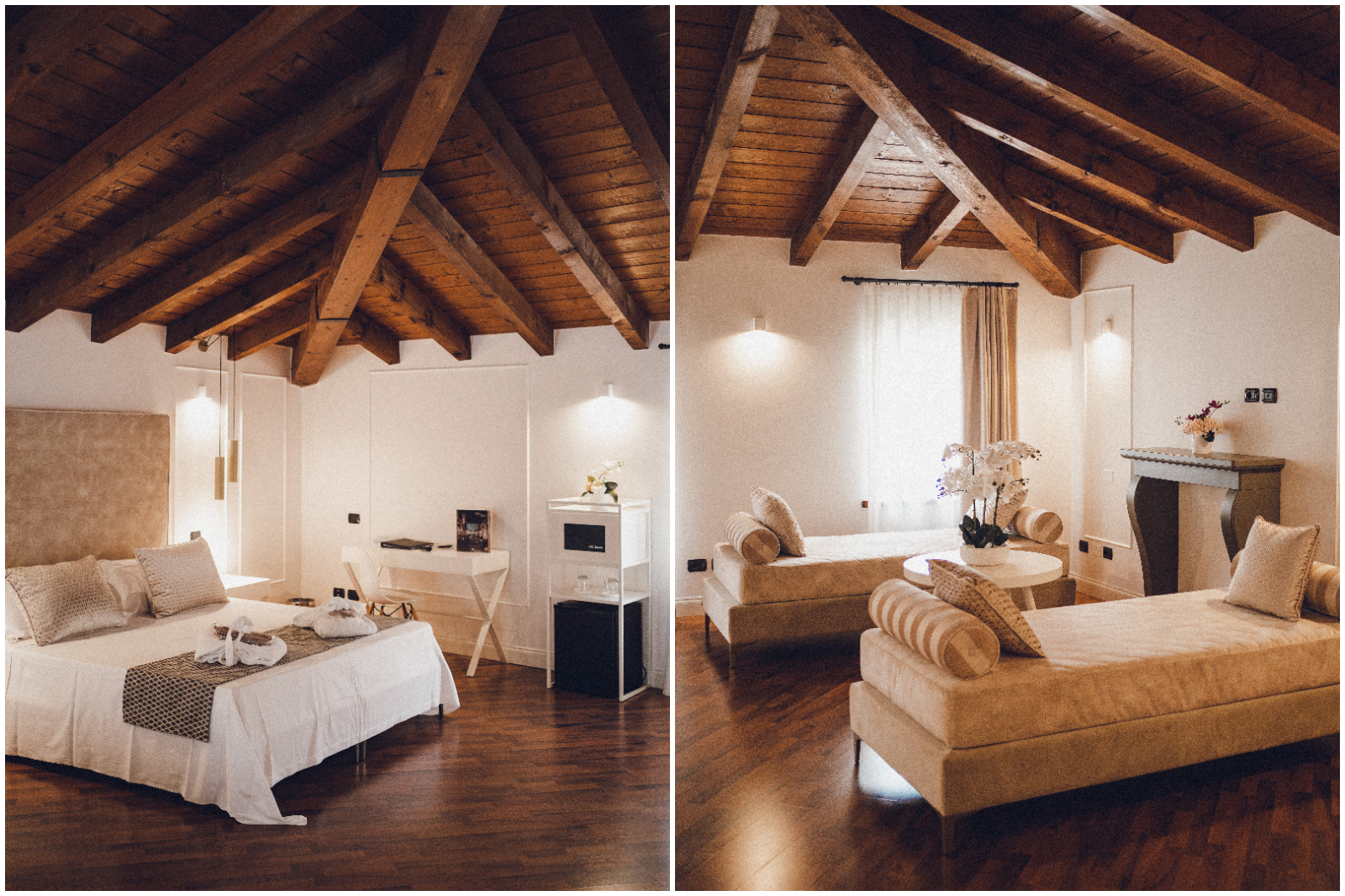 Villa Cariola le camere