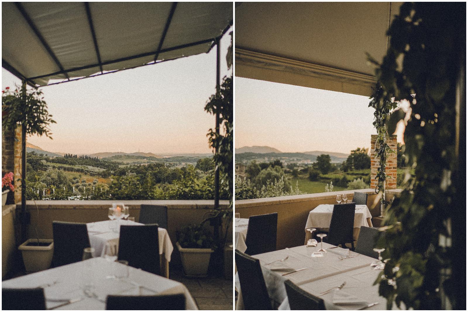 Il ristorante di Villa Cariola