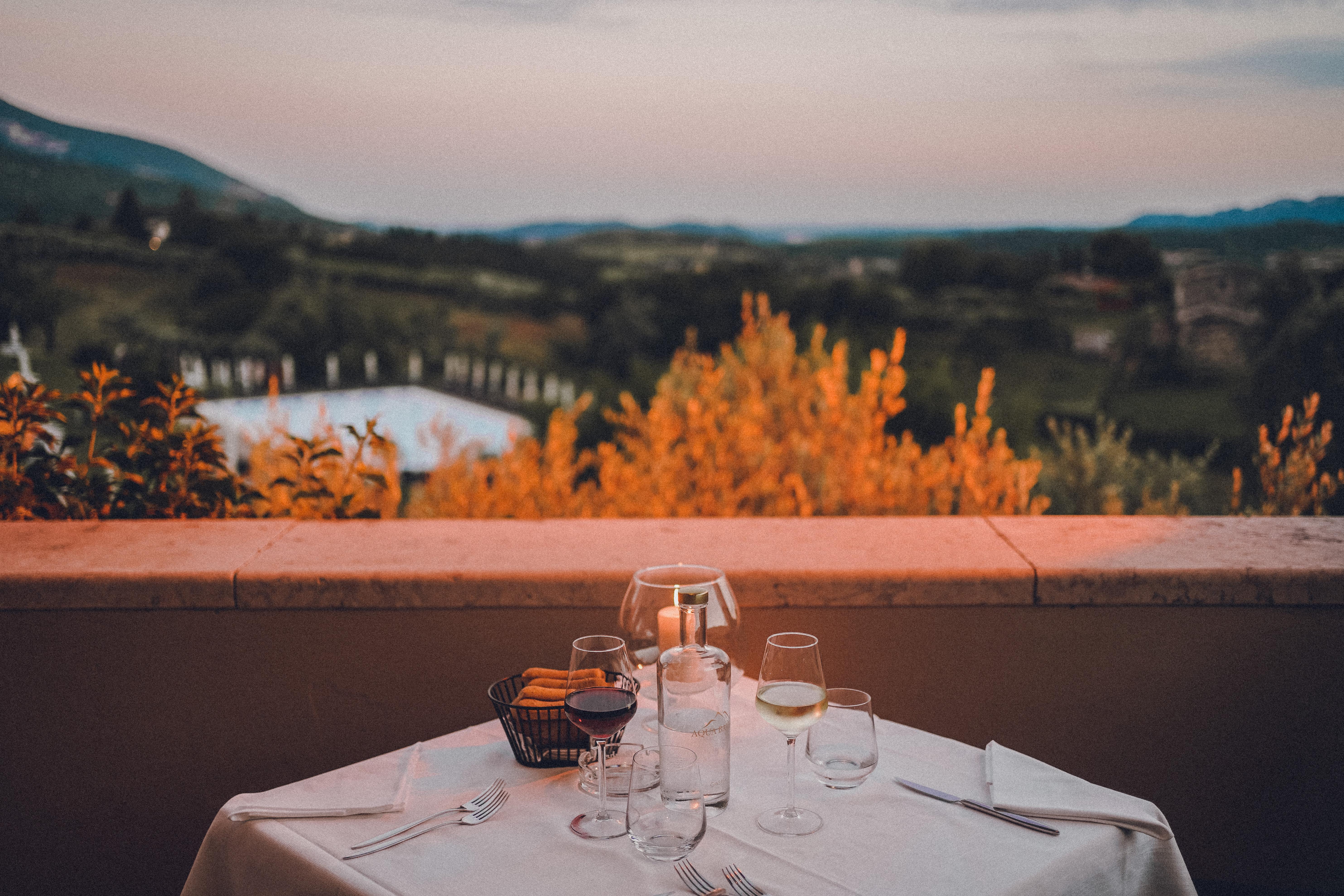 Cena a villa cariola