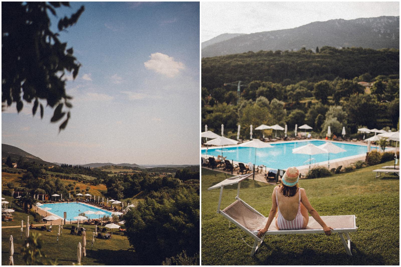 La piscina Villa Cariola